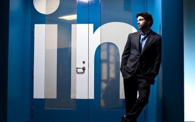 LinkedIn CEO Jeff Weiner poses for a portrait at LinkedIn's Mountain View, Calif. campus on Jan. 22, 2010.